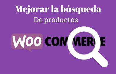 mejorar la busqueda de productos en woocommerce